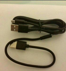 Кабель Type C и micro-USB 2.4А, 5v Aukey