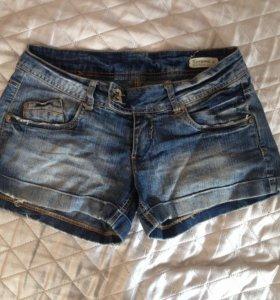 Шорты и юбка джинсовые