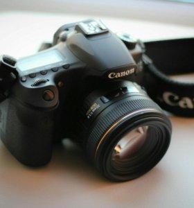 Canon EOS 60d + Sigma 30mm 1.4 +Сумка, вспышка