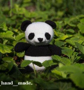 Игрушка полностью ручной работы Панда.