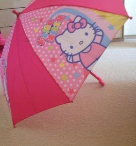 Зонтик Hallo Kitty