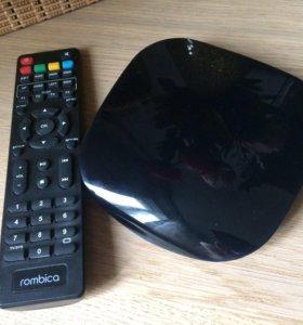 Смарт ТВ android-приставка Rombica