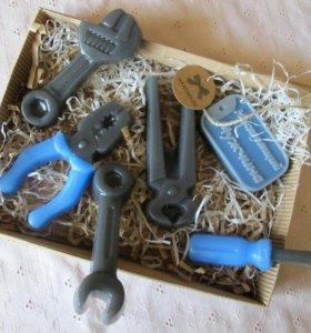 Набор инструментов из мыла ручной работы