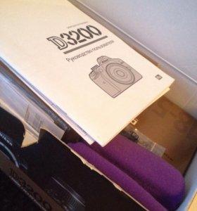 Фотоаппарат Nikon D3200+18-55 ll Kit