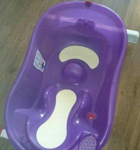 Детская ванночка OKbaby с креплением на ванну