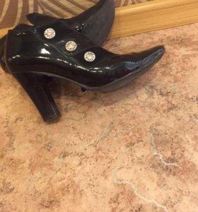 Туфли-ботильоны женские 37 размер