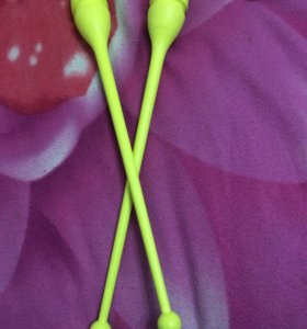 Булавы Сасаки пластиковые желтые