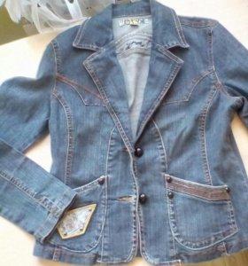 Пиджак джинсовый 48-50