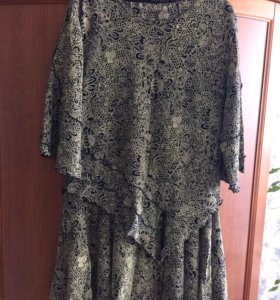 Костюм платье блузка р50