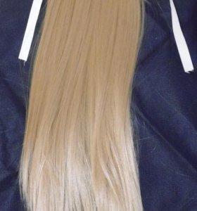 Шиньон/волосы/хвост