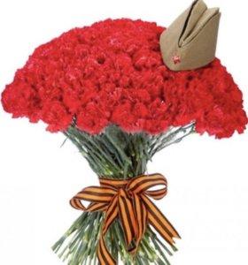 Срезанные Гвоздики напрямую из теплиц ( цветы )