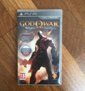 Игра на PSP God of war