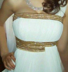 Свадебное / выпускное платье в греческом стиле