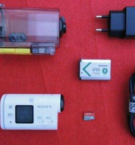 Экшен камера Sony hdr as 100v