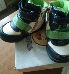 Ботинки на мальчика демисезон, размер 22