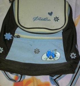 Маленький рюкзачок для девочки