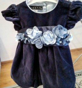 Брендовое платье на торжество Biscotti.