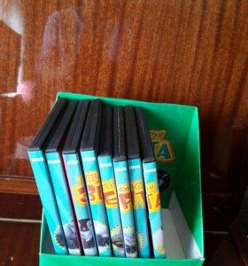 Диски+журналы