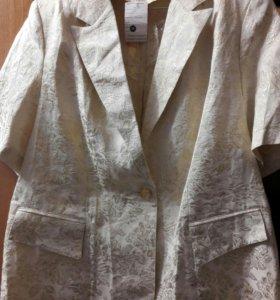 Пиджак-блузка Новая