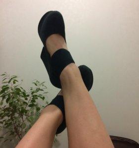 Туфли(натуральная замша)