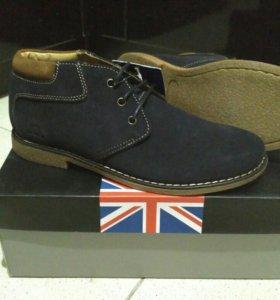 Новые классические ботинки из Англии (43 rus,9 uk)