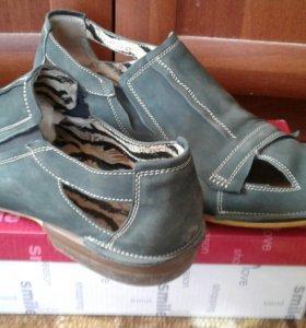 Туфли  замшевые р.44