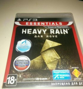"Игра для ps3 ""HEAVY RAIN"""