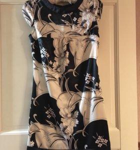 Новое шелковое платье Oggi р.42-44