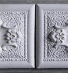 Декоративный бордюр (гипс)