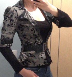 Пиджак+блуза