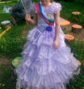 Платье красивое пышное