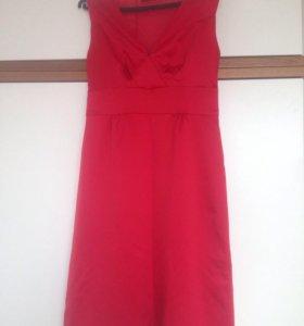 Платье красное Zarina