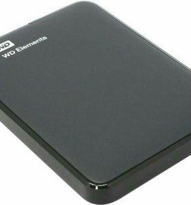 Western Digital Elements, WDBUZG0010BBK-WESN, 1ТБ,