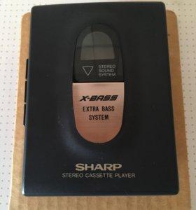 Плеер кассетный SHARP jc-118(GY)