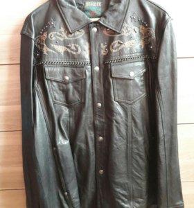 Куртка Scott кожаная