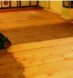 Стяжка Шлифовка деревянных полов