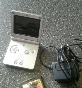 Game Boy + 121 игра (геймбой)