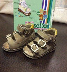 Детские ортопедические сандалии Orsetto р.18