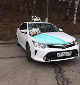 Тойота Камри на свадьбу