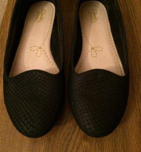 Туфли балетки Clarks