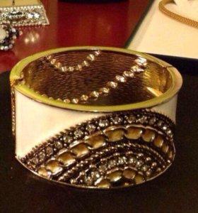 Новый браслет с кристаллами как Swarovski сияет