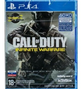 Игра PS4 Call of Duty: Infinite Warfare.