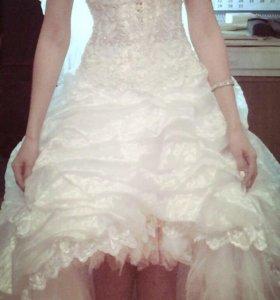 Свадебное платье (юбка, корсет)