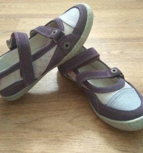 Новые туфли, натур.кожа, Антилопа