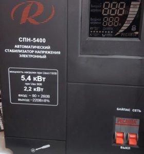 Стабилизатор напряжения ресанта СПН 5400