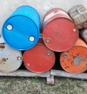 Продам бочки металл и канистры полимер