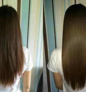 Мелирование и полировка волос