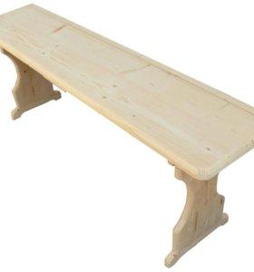 Лавки деревянные