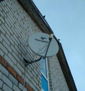 Продается комплект спутникового теле-ия телекарта