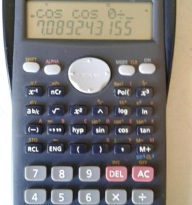 Инженерный калькулятор CASIO